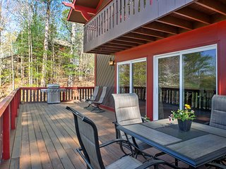 NEW! Ellijay Home w/Fire Pit & Community Amenities