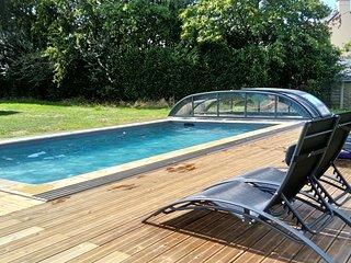 Gite *** de charme 'La Grange' en Bretagne Sud avec accès piscine chauffée