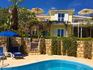 Beautiful seefront villa, with huge pool and tremendous view