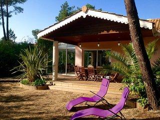 Villa de standing avec spa, entre ocean et bassin dArcachon.