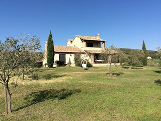 Beautiful three-bedroom house and olive grove