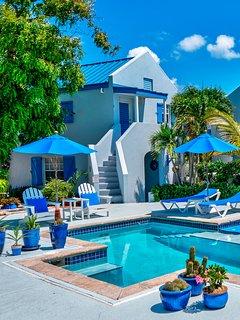 Grace Bay Beach Ocean Villas, Bougainvilea Villa. Rated #1 On Trip Advisor.