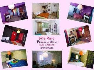 Gite Rural Chambres a Themes autres pieces communes UNIQUE !! OSEZ!!