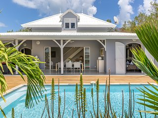 Palm Villas : Sublime villa en 1ere ligne de front de mer