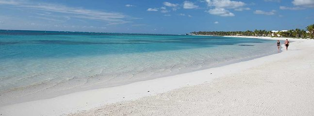 The Dominican Beaches are spectacular.  This resort has 4 different beaches for you to explore!
