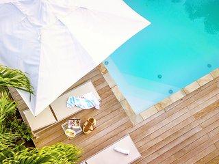 Palm Villa : Magnifique villa Martinique, piscine privée, vue mer et campagne