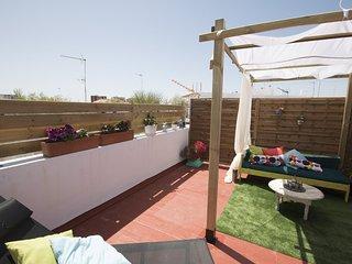 Apartamento con terraza independiente,Wifi,aire acondicionado