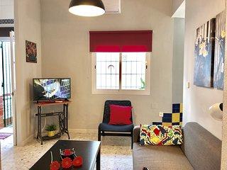 Apartamento El Patio - Centro Ciudad, Garaje, Internet, Aire Acondicionado. SOL
