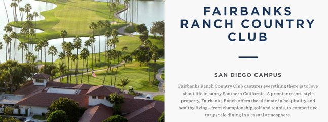 Fairbanks Ranch Golf Club is only 4 minutes away.