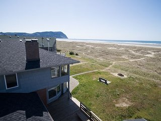 Beautiful oceanfront home just perfect for your family and canine companion!