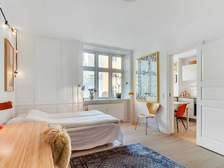 Nice and bright Copenhagen apartment at Noerrebro