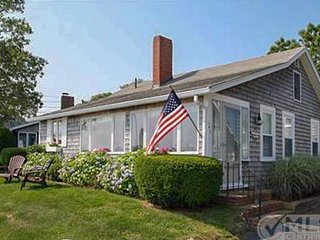 Waterfront home w/ lovely lake views - walk to Bristol/Falmouth Heights Beaches!
