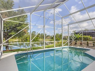 Waterfront home w/ private pool & great views - close to golf & Naples Beach