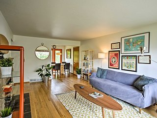 Mid-Century West Seattle Home w/Yard-Near Shuttle!