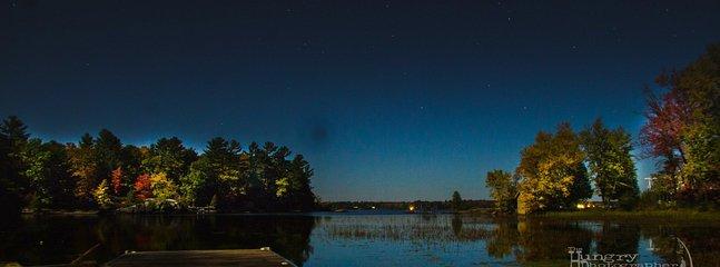 Beautiful, bright night skies