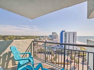 NEW! Oceanfront Resort Condo on Beach w/ Balcony!