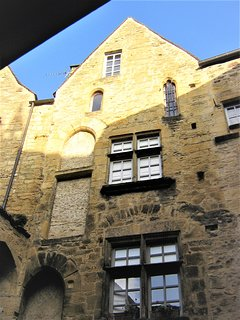 15 century townhouse, Le Grenier (The Loft) is up at the top.