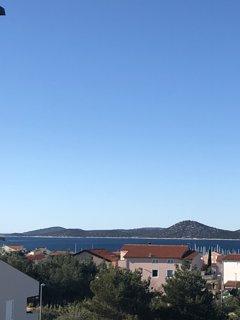Blick von unserer Dachterrasse
