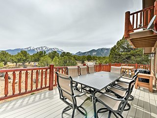 NEW! 2-Acre Buena Vista Estate w/Mt Princeton View
