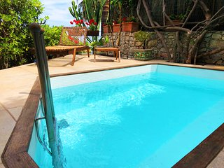 VILLA ELEONORA ISOLA BELLA Private Small Pool Sea View Jacuzzi  Taormina