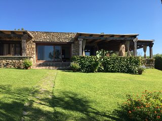 Lussuosa Villa, giardino mediterraneo, piscina panoramica, vista mozzafiato