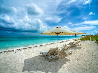 Grace Bay Beach Ocean Villas, Magnolia Villa. Rated #1 On Trip Advisor.
