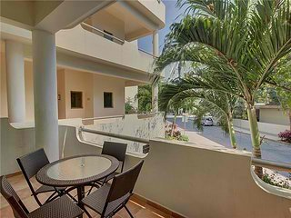 Spacious Balcony. Right on 5th avenue. Condo Palmar #101