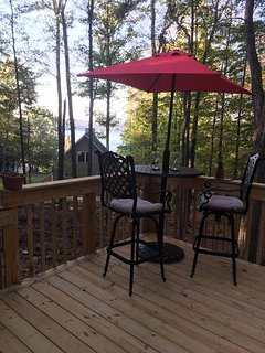 Back deck,connected to master bedroom