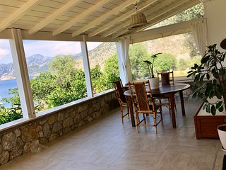 Casa Daphne, zen and cosy with a nice view of Selimiye Bay and 250m to the beach