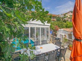 Maison Lilo avec vue sur la mer, piscine privee, 1 km aerienne de la plage