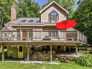 Dog-friendly home w/ game room, deck, & easy access to year round activities!