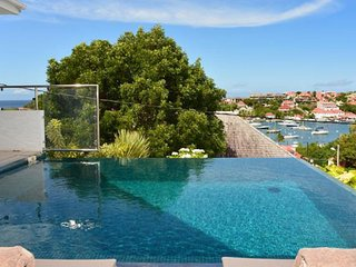 Villa Wastra  # Ocean View * Located in  Tropical Gustavia with Private Pool