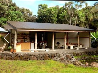 Pavilion studio at Kualoli Retreat near Beaches, Kalani, warm ponds and more