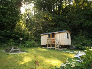 Morris the shepherds hut,2 guests ,secluded ,romantic ,peaceful ,integral shower