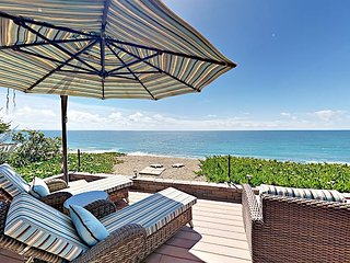 Ocean's Edge! 3BR w/ Luxe Outdoor Entertaining & Breathtaking Water Views