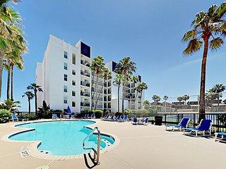 Gulf View & Private Balcony 2BR Embassy Condo w/ Pool, Hot Tub & Beach Access