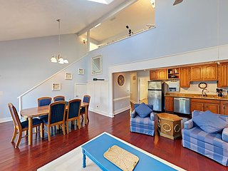 Family-Friendly Duplex | Pool & Spa | Steps to Surf & Sand, Near Myrtle Beach