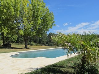 Beautiful Farmhouse with stunning views in your own valley and outside barn pool
