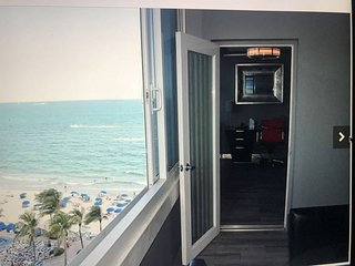 B.E.A.C.H...2 BEDROOM HOTEL CONDO ON THE BEACH! OCEAN VIEWS! FT LAUDERDALE FL