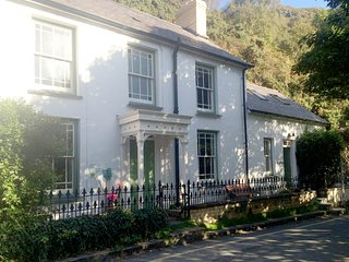 Castle Rock, Pretty coastal cottage in Llangrannog, walking distance to beach.