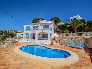 Aloha - sea view villa with private pool in Benissa