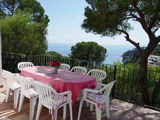 Casa Joaquín con bonitas vistas al mar