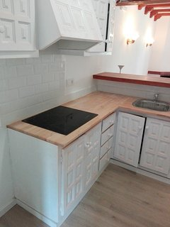 Fitted open kitchen