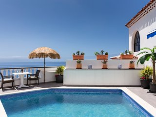 Villa in the sought after part of Los Gigantes, a wellbeing oasis.