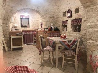 Piano cottura e sala pranzo
