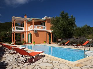 3 Bedroom Villa Pantheon, Private Pool, Sea Views,  Lefkas