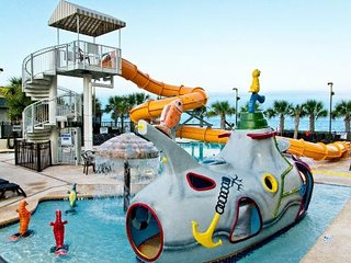 Family Fun!! Oceanfront Pool. Water Park. On-Site Dining. Poolside Bar.