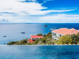Villa Belharra  ^ Ocean View # Located in  Wonderful Colombier with Private Pool