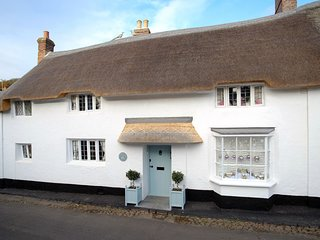 The Old Sweet Shop, Minehead - Characterful thatched cottage with hot tub!
