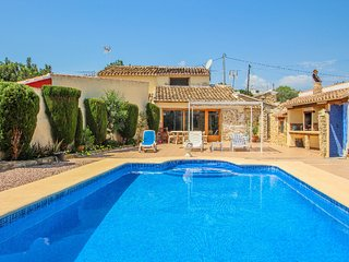 Finca Pallot - holiday home with private swimming pool in Teulada